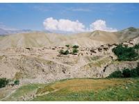 Village Province Badakhshan in Afghanistan 2009