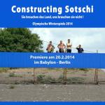 """Constructing Sotschi"""